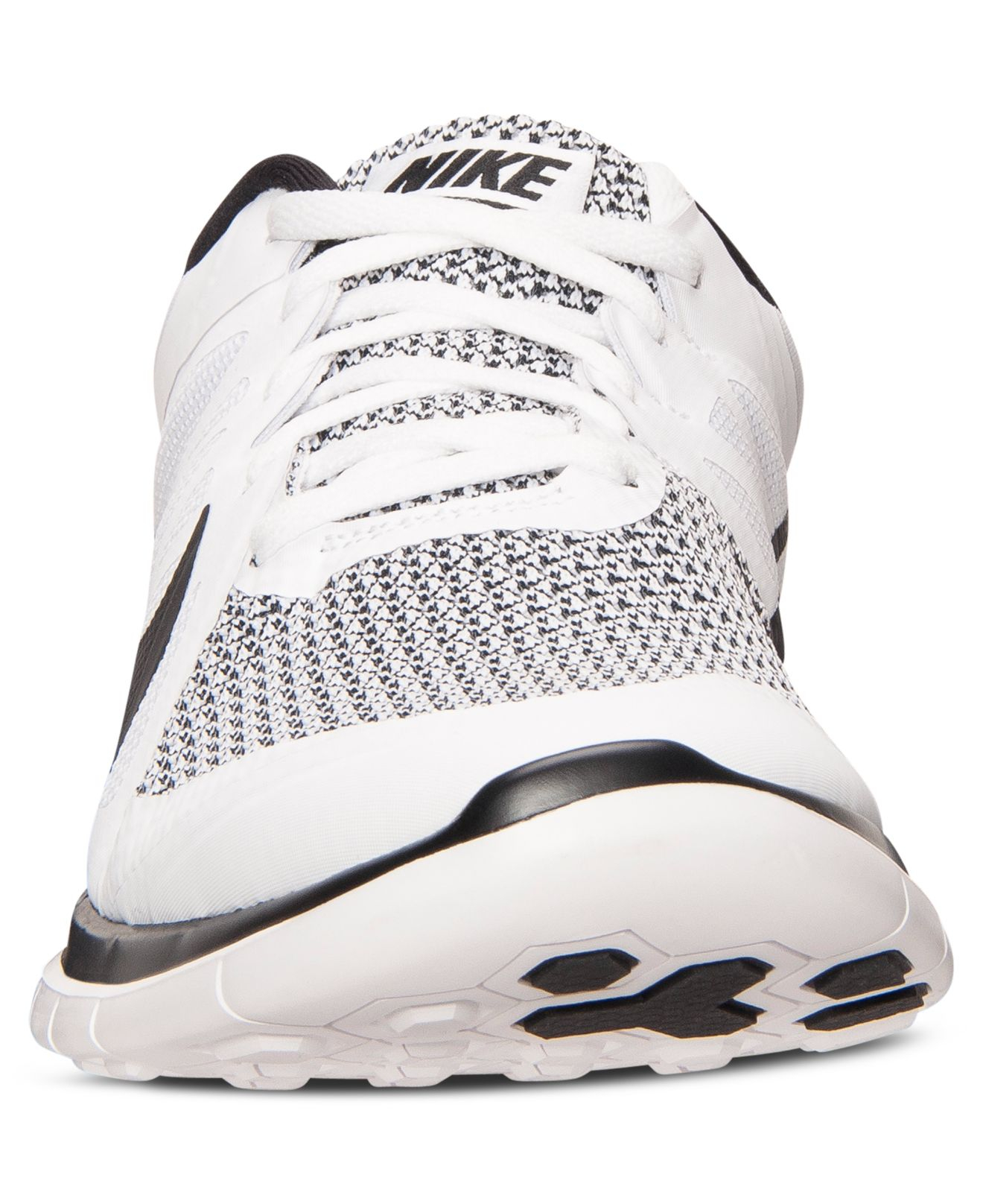 new product 4b6cd 016d4 ... where to buy lyst nike mens free 4.0 v4 running sneakers from finish  line in white