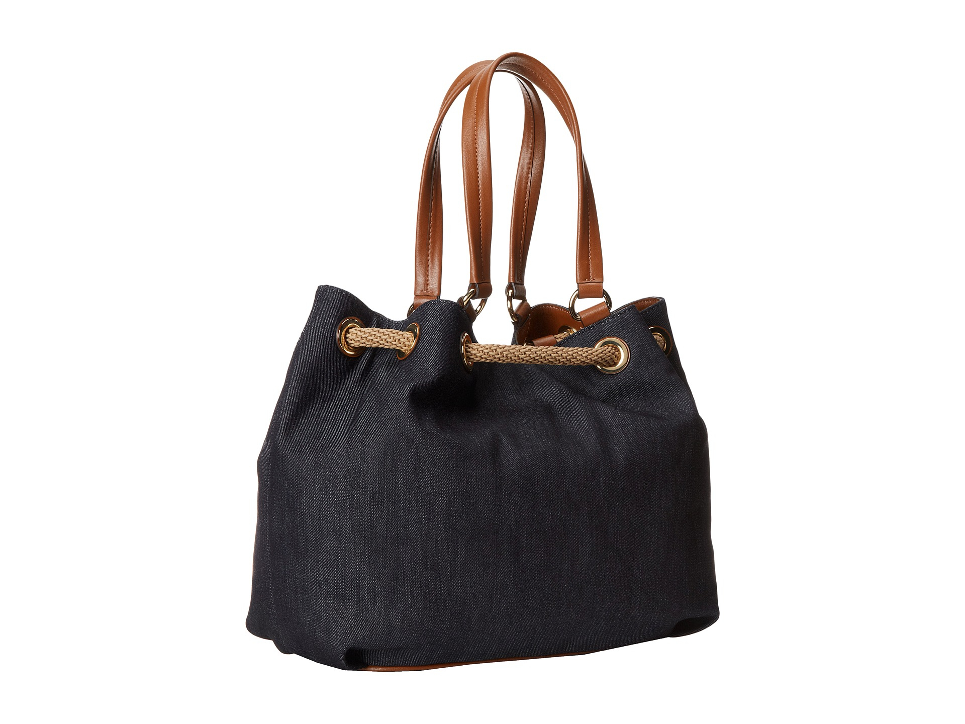 55d5b393e630 Previously sold at Zappos · Womens Michael Kors Marina MICHAEL Michael Kors  Marina Navy Large Shoulder Tote.