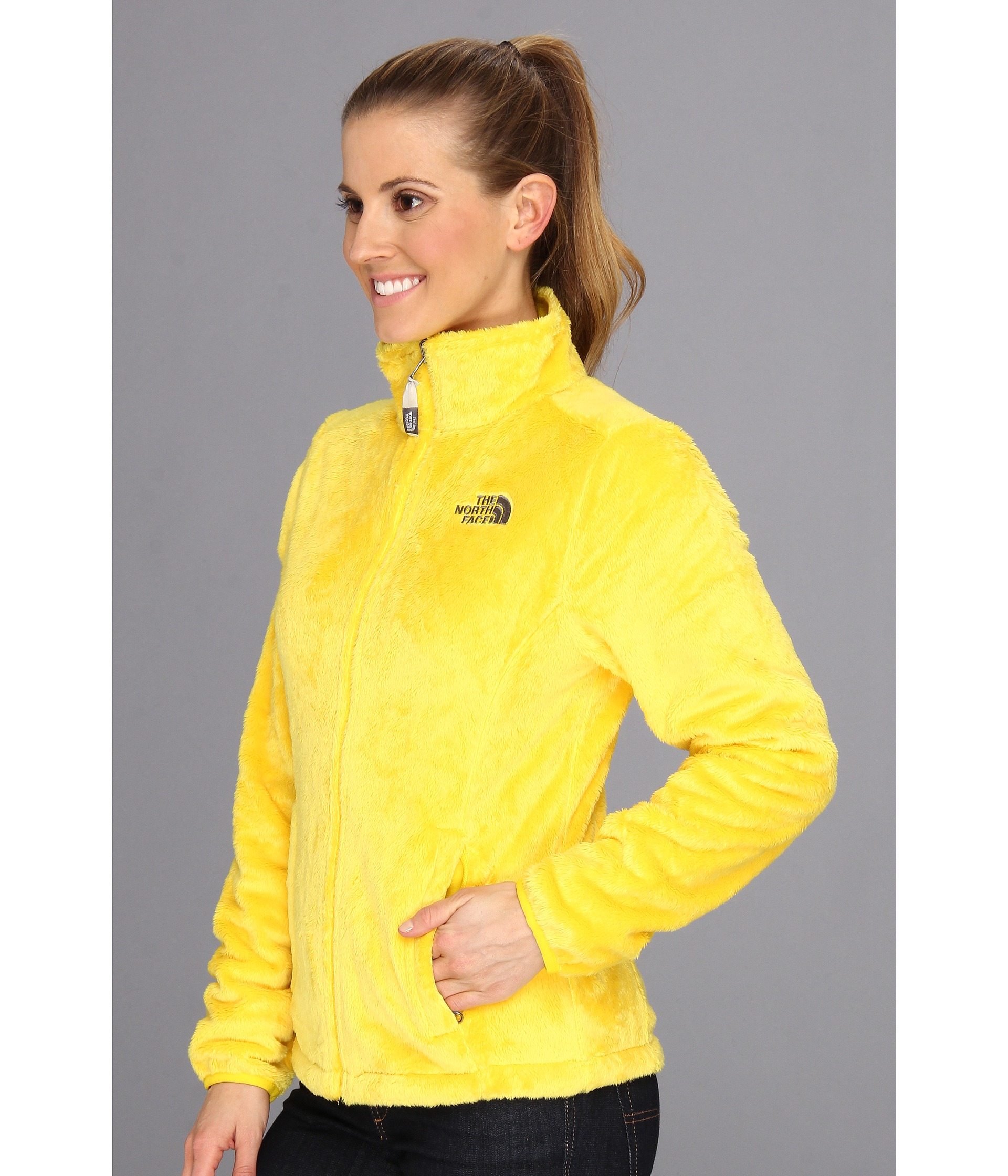 73ab569a18df Lyst - The North Face Osito Jacket in Yellow