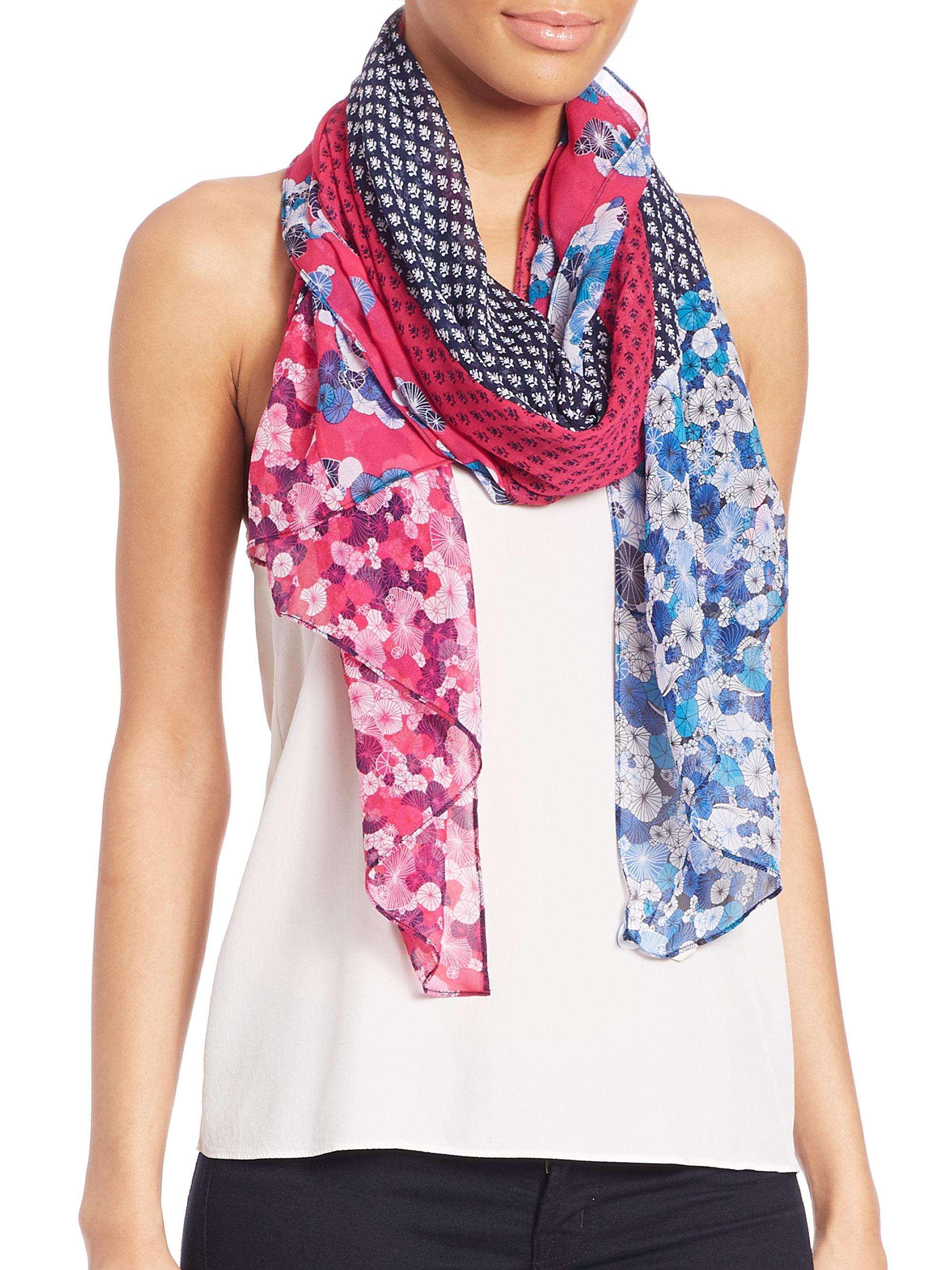 ditsy floral print scarf - Multicolour Diane Von F??rstenberg vxDPiDv