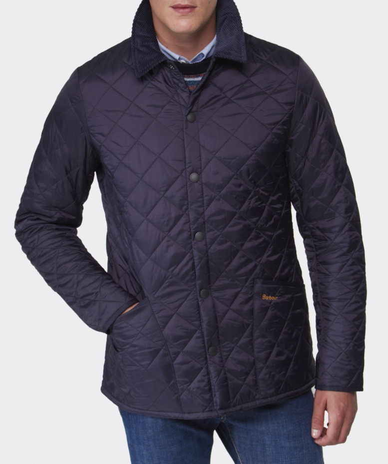 Lyst Barbour Heritage Liddesdale Quilted Jacket In Blue