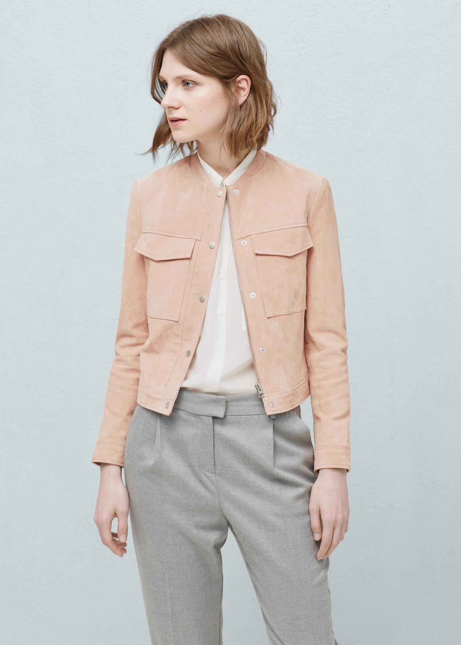 Mango Pink Jacket Jacketin