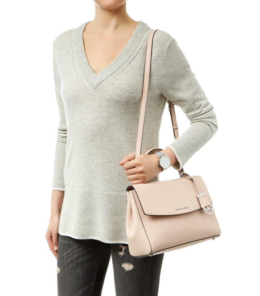 1cfed31eecea 12345 151f1 bba10; best price michael michael kors medium ava satchel in  pink lyst 4eb0a 4ab8c