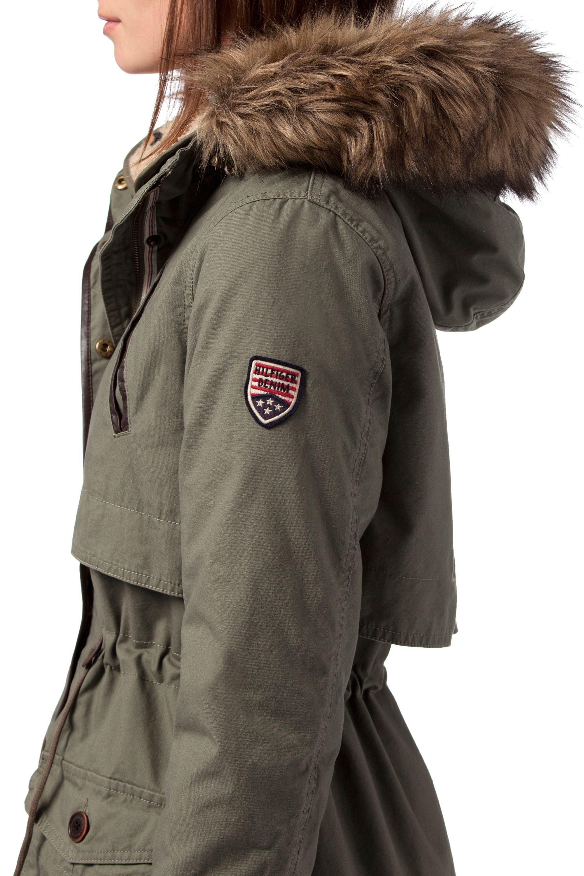 tommy hilfiger parka damen oliv tommy hilfiger parka. Black Bedroom Furniture Sets. Home Design Ideas
