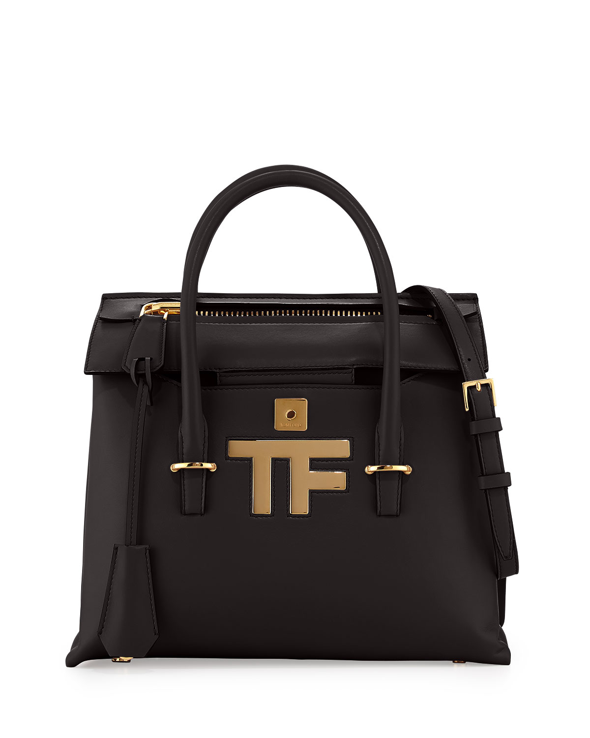 Awesome Tom Ford Womens Amber Doublezip Leather Tote Bag In Brown ROSE