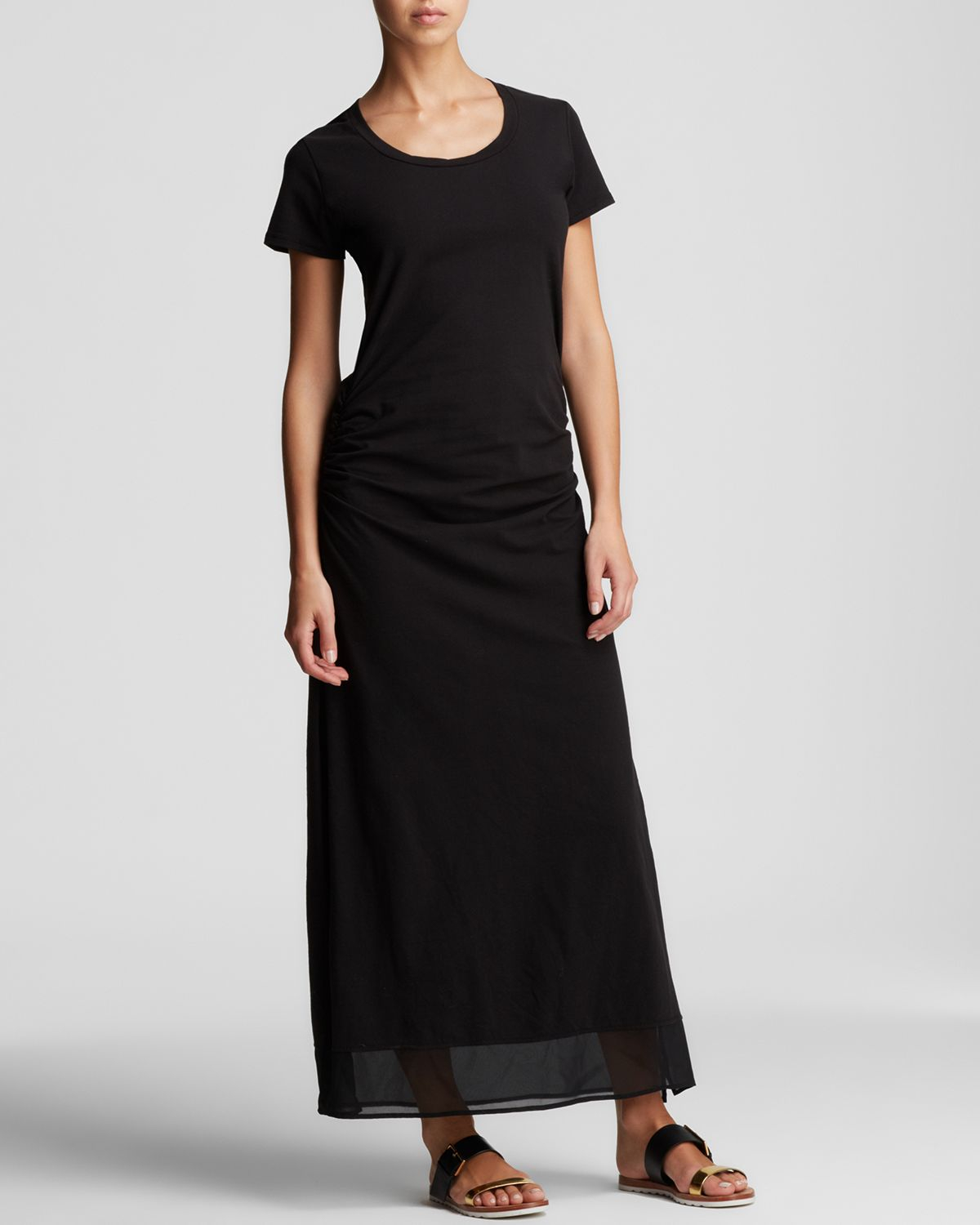 Tommy Bahama T Shirt Maxi Dress Swim Cover Up In Black Lyst