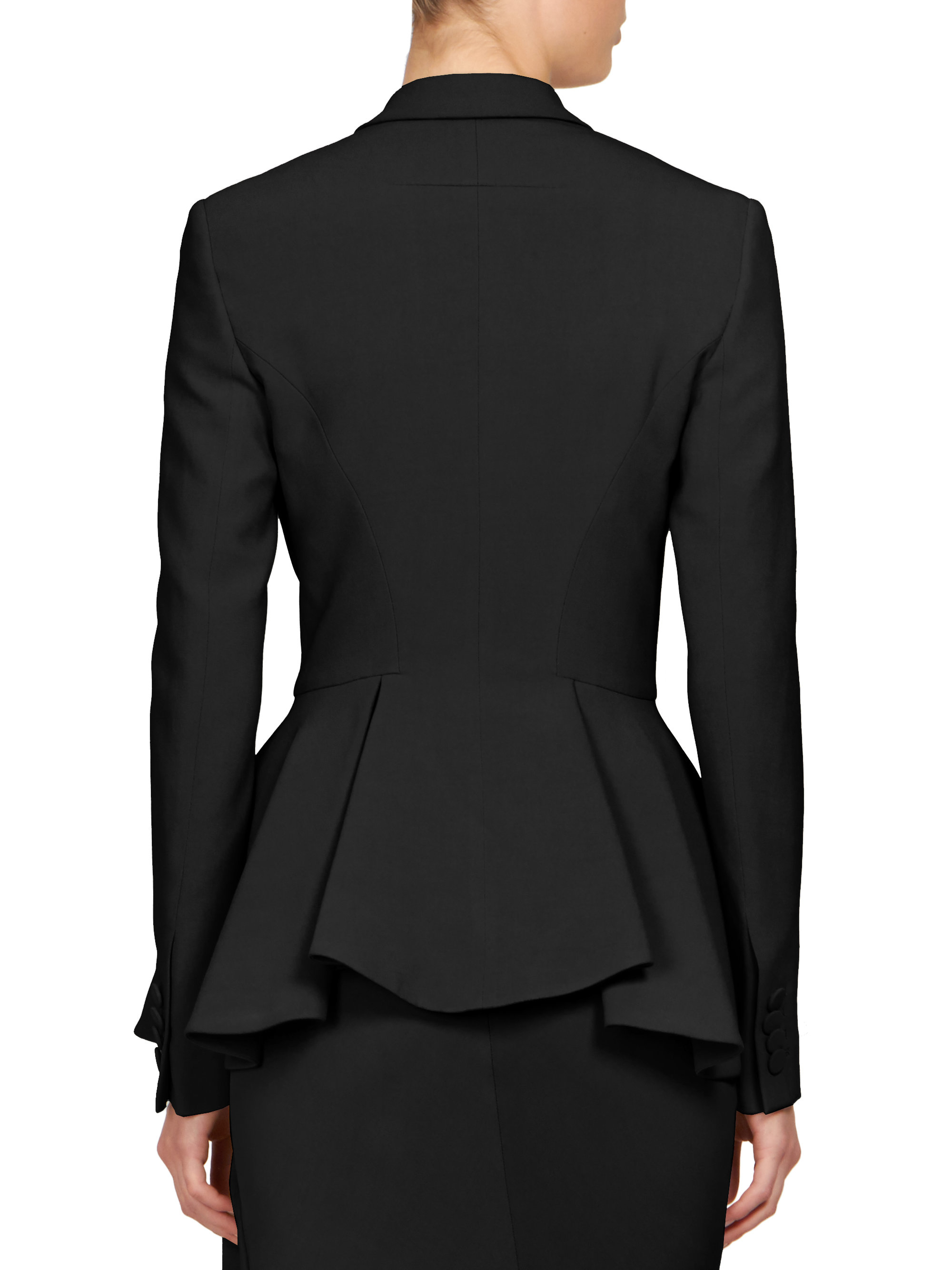 Find black peplum jacket at ShopStyle. Shop the latest collection of black peplum jacket from the most popular stores - all in one place.