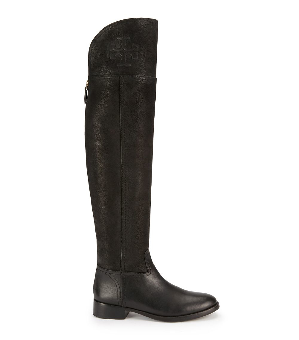 018e7f5b522 Tory Burch Simone Over-the-knee Boot in Black - Lyst