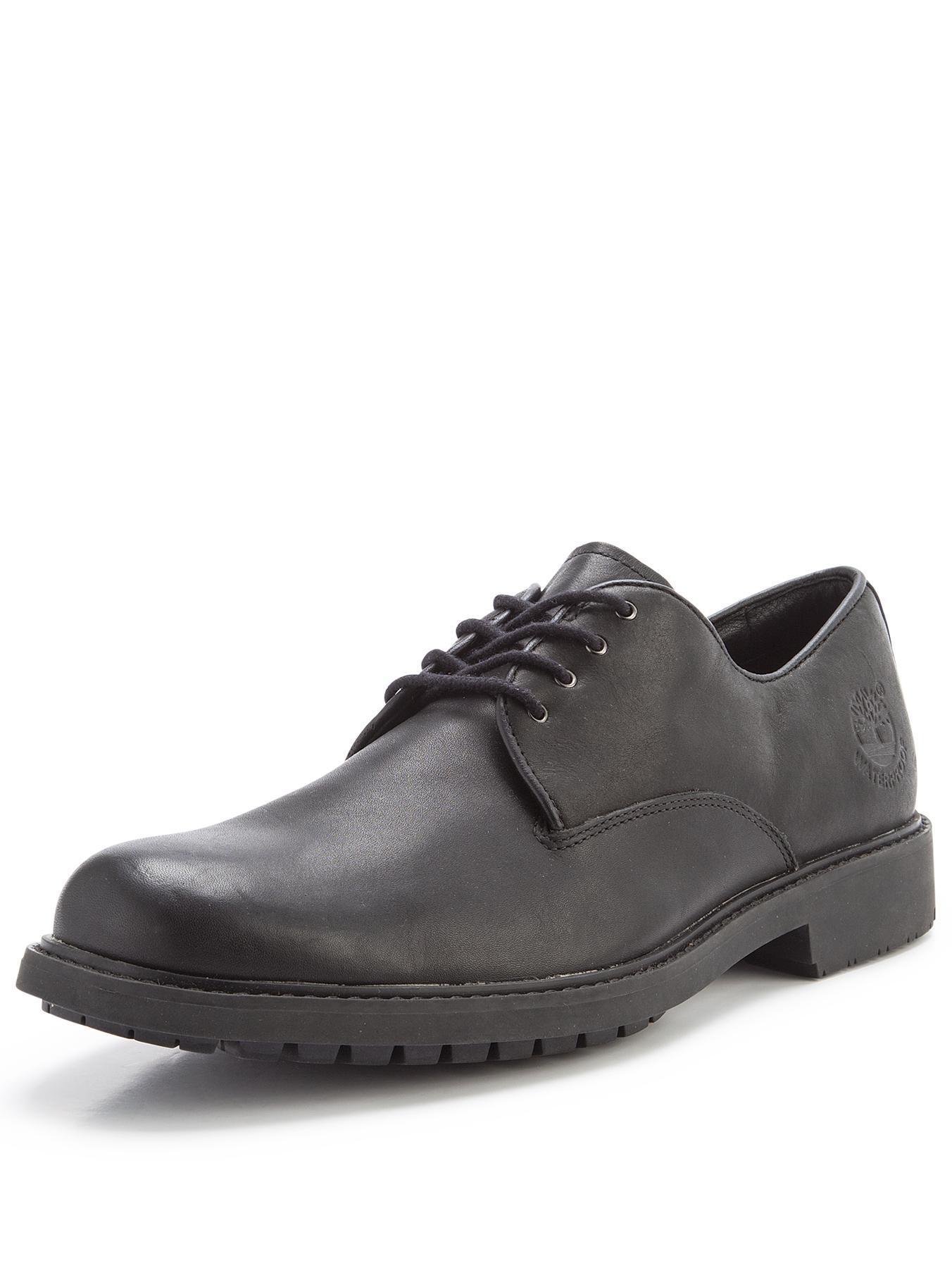 Timberland Stormbuck Plain Toe Oxford Shoes Black