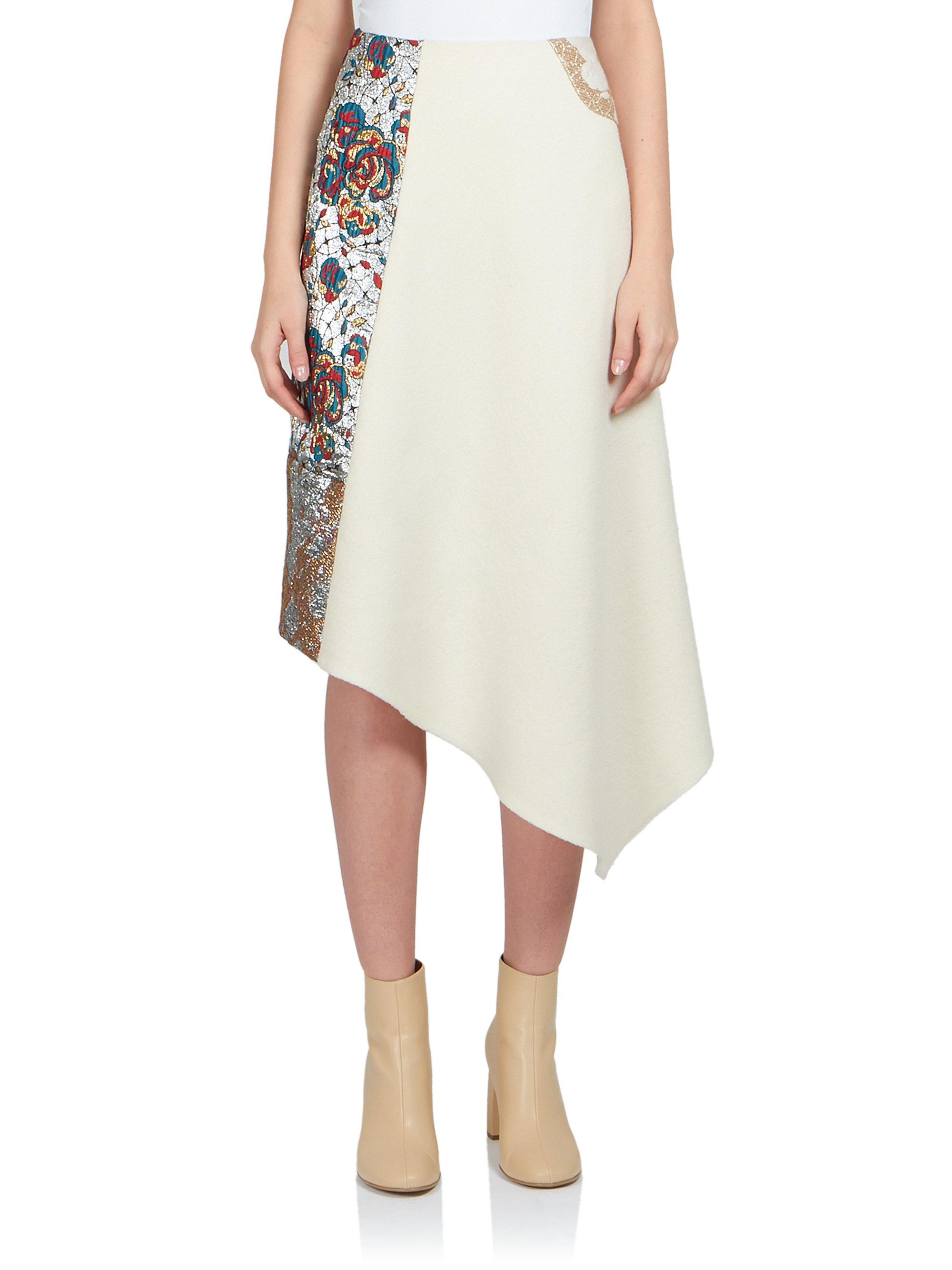 4b7e19c0858c Go glam like Amne in a midi length skirt by Stella McCartney