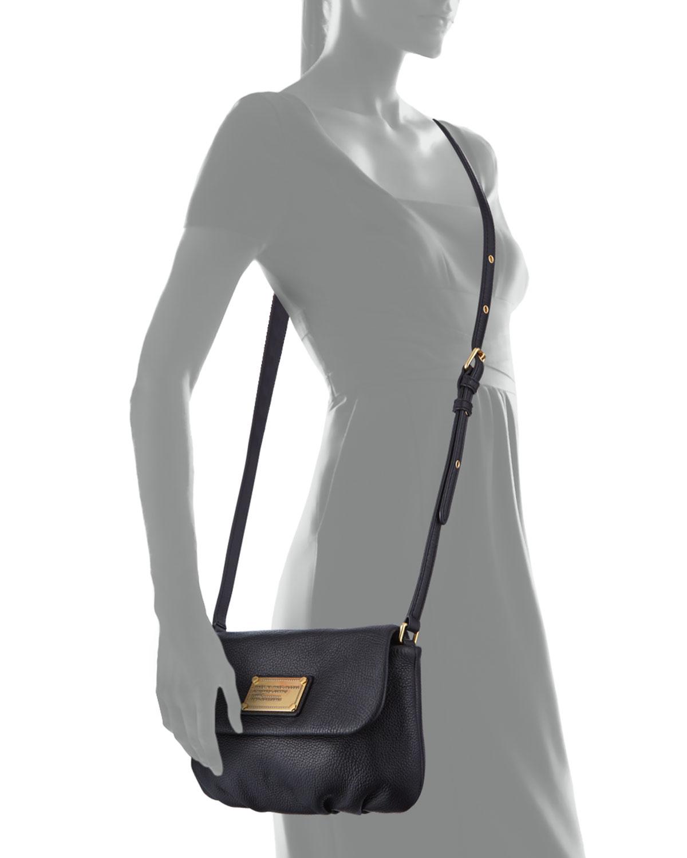 9a7461e82b8 Marc By Marc Jacobs Classic Q Percy Flap Crossbody Bag Black in ...