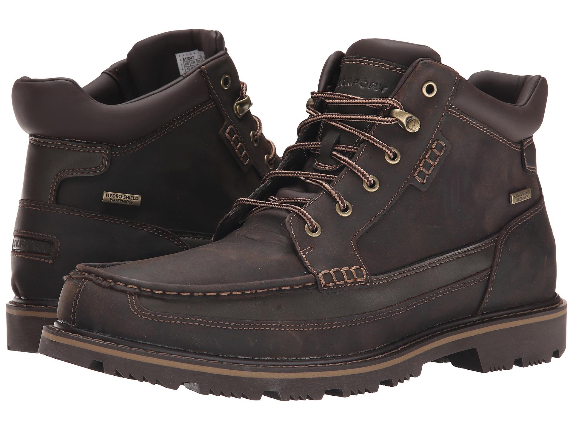 Lyst Rockport Gentlemen S Boot Moc Mid Waterproof In