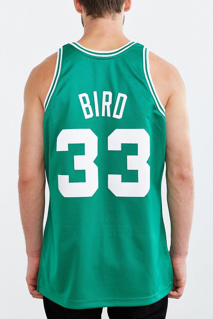 cheap for discount 7c7b5 b2b14 Men's Green Larry Bird Celtics Jersey