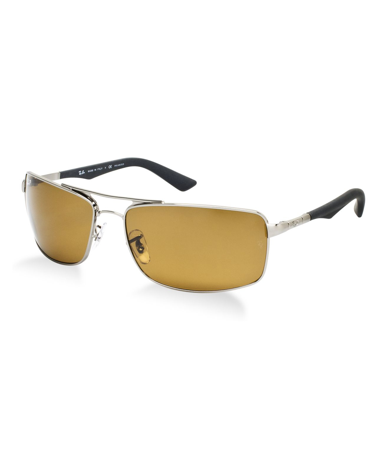 65024a828f ... shop lyst ray ban rb3465 in metallic for men 2f9fc d0cef