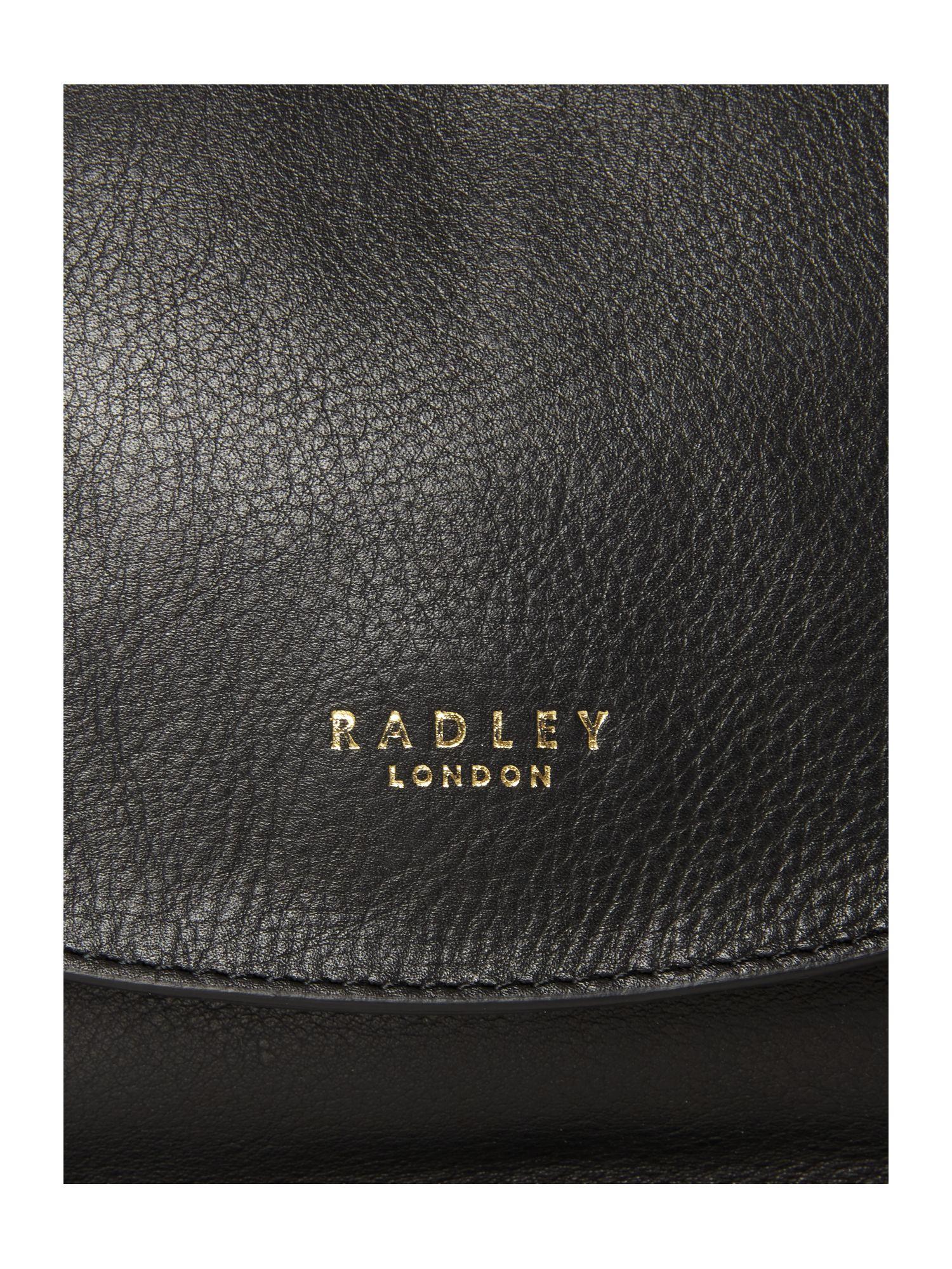 Radley Threadneedle Street Black Small Crossbody Bag