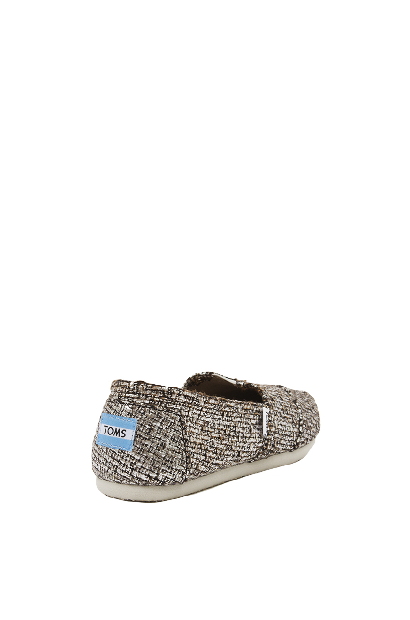 Toms Glitter Classic Slip On Shoes