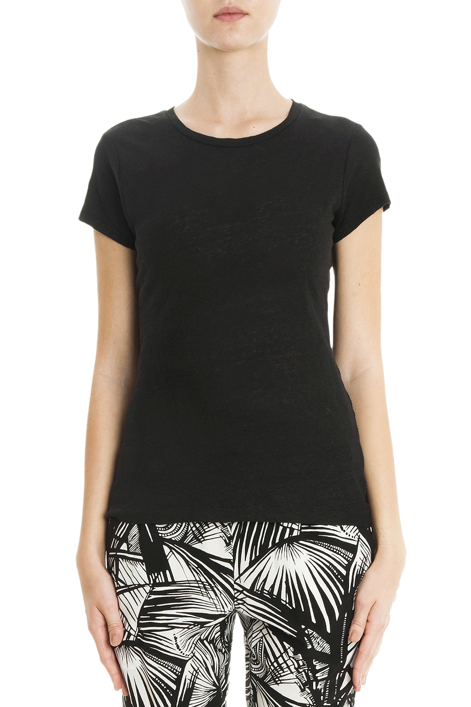lyst elizabeth and james nico t shirt in black
