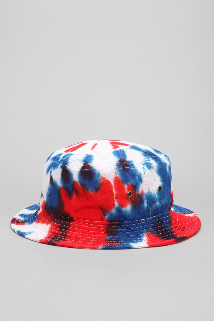 Lyst - Milkcrate Athletics Milkcrate Athletics Usa Tiedye Bucket Hat ... 4243ac551627