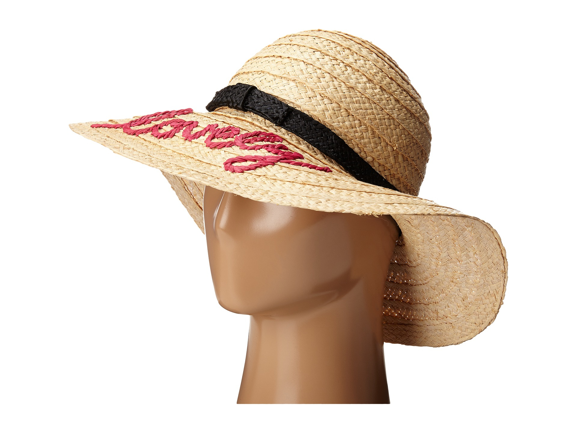 6fe553d255ff9 Kate Spade Embroidered Lovely Sun Hat in Yellow - Lyst