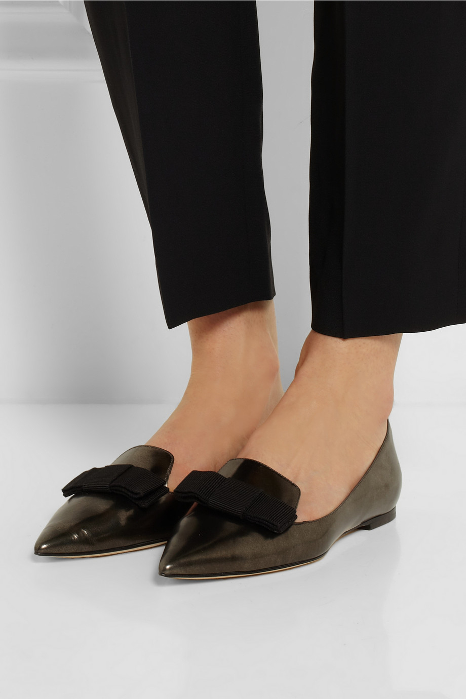 Mirrored Leather Shoes