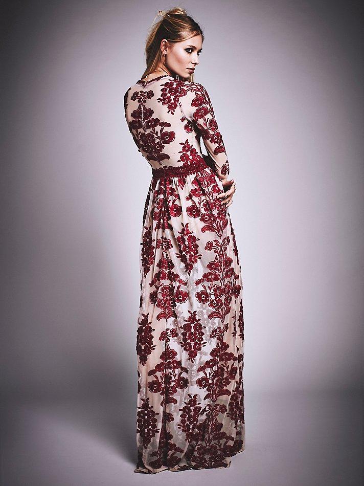 4e58f787bce Free People Temecula Maxi Dress in Purple - Lyst