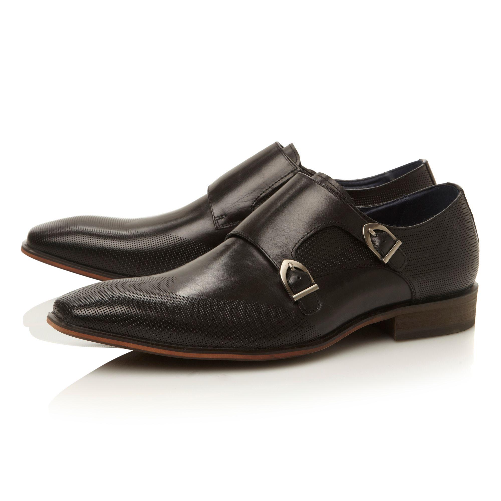 steve madden jerney buckle monk formal shoes in