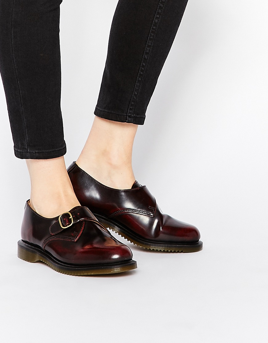 great discount sale buy amazing selection Kensington Lorne Cherry Red Monk Flat Shoes