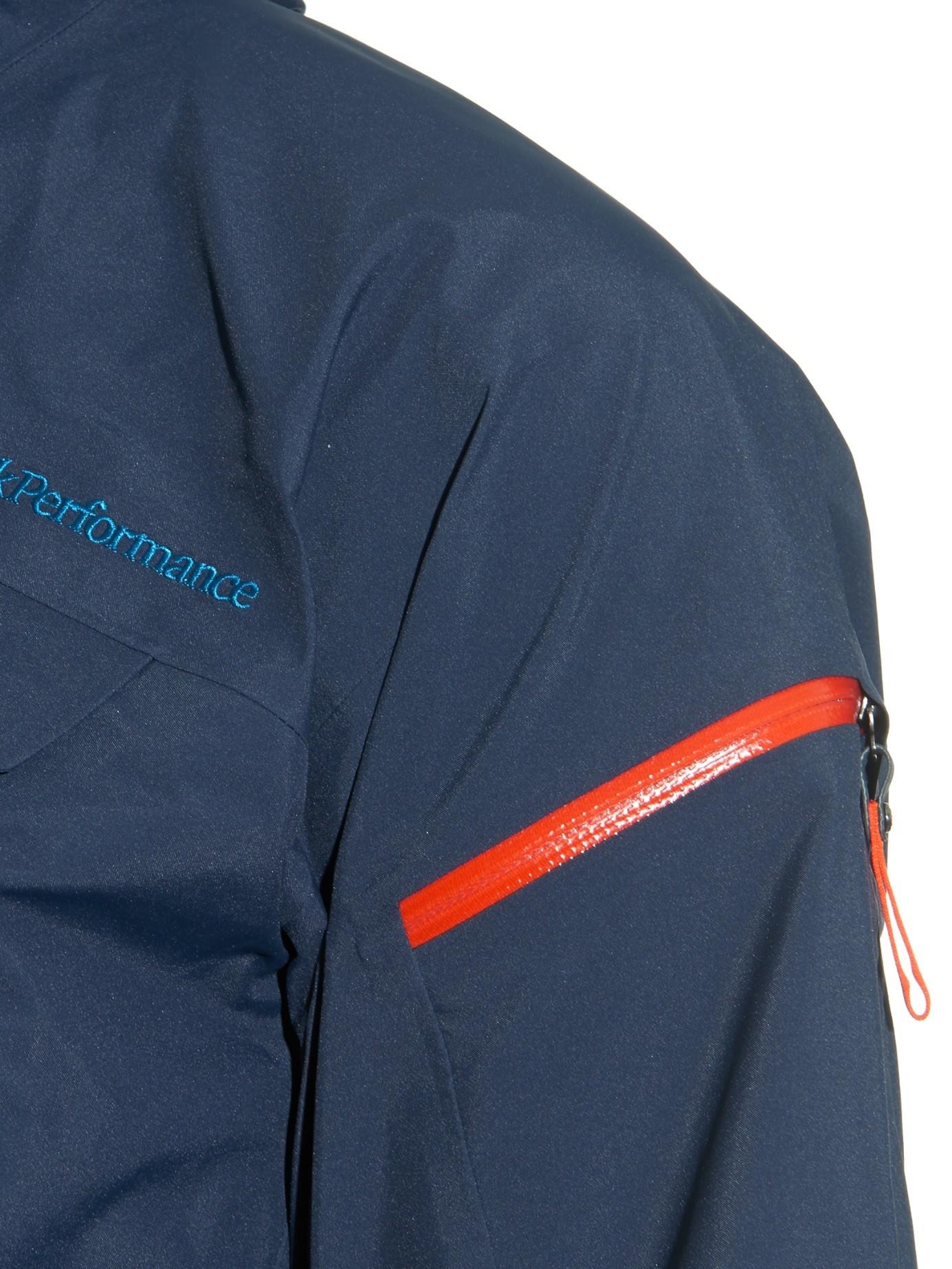 best service 0241d 816bc Peak Performance Blue Heli Alpine Technical Ski Jacket for men