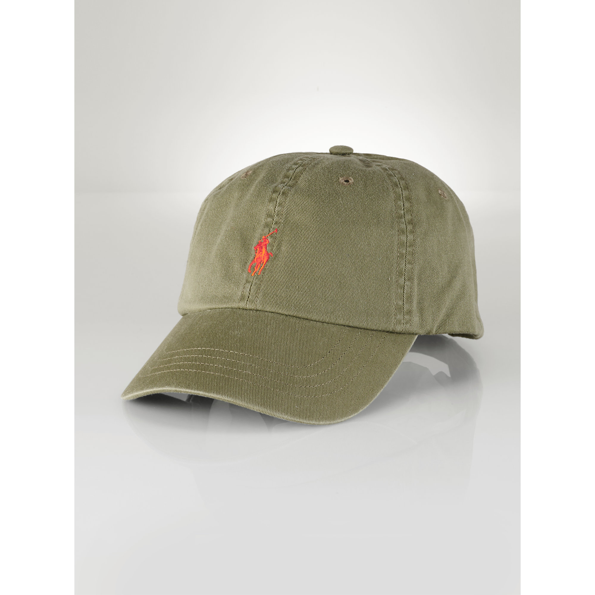 e37f7b81e6d19 ... where can i buy lyst polo ralph lauren chino baseball hat in green for  men 91350