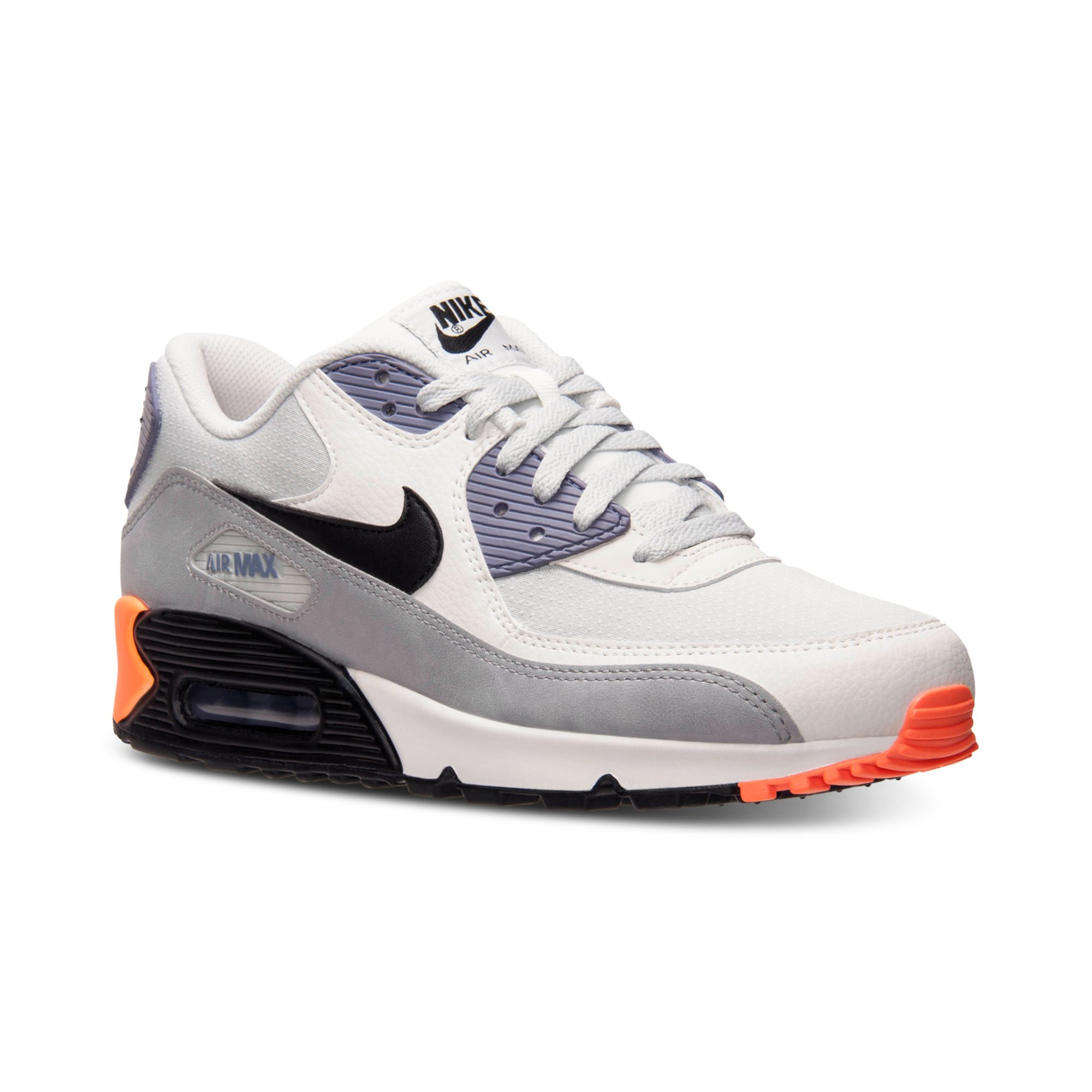 best website 79bcc 8299e Lyst - Nike Mens Air Max 90 Essential Running Sneakers From Finish ...