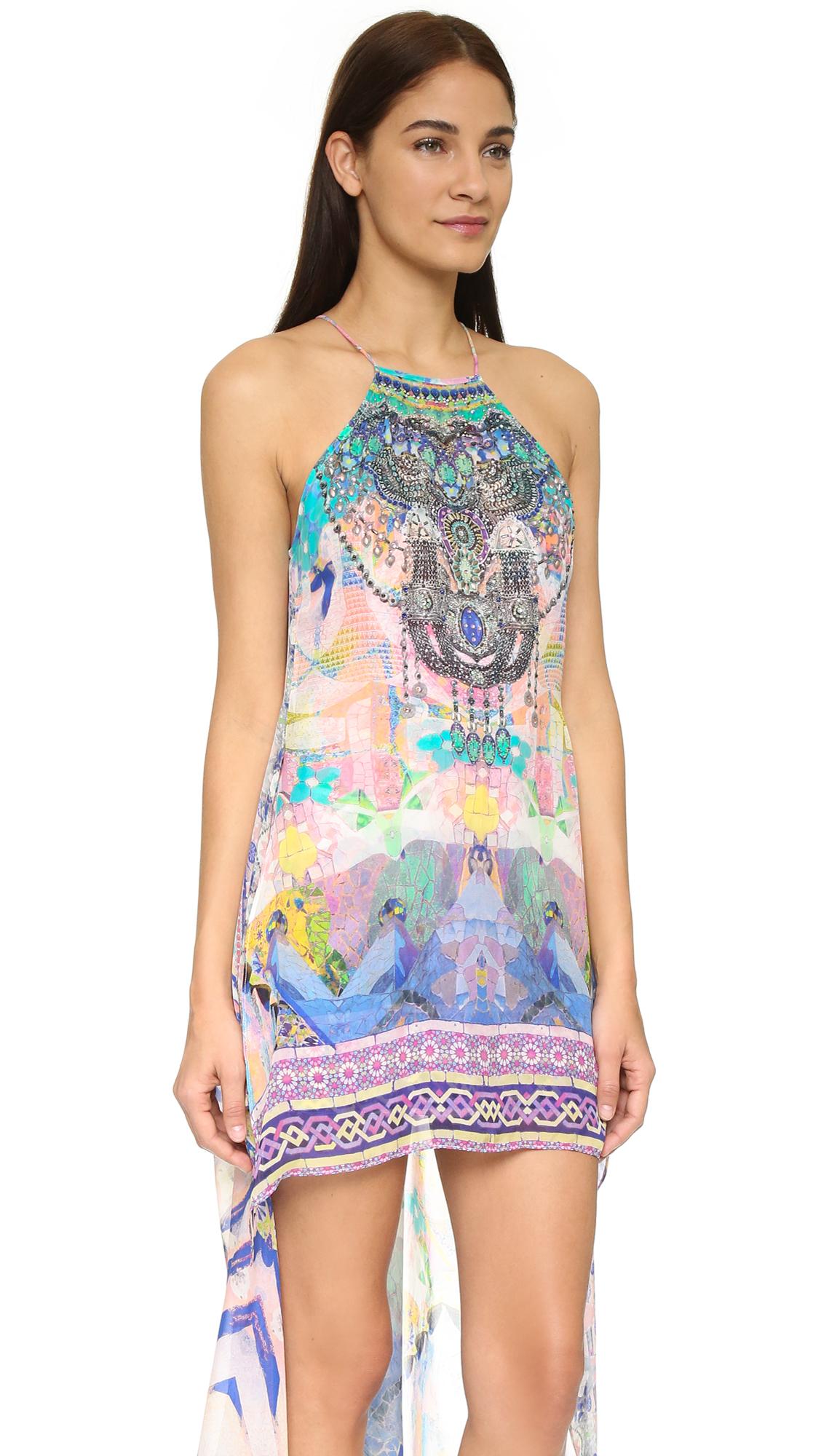 camilla overlay dress lyst