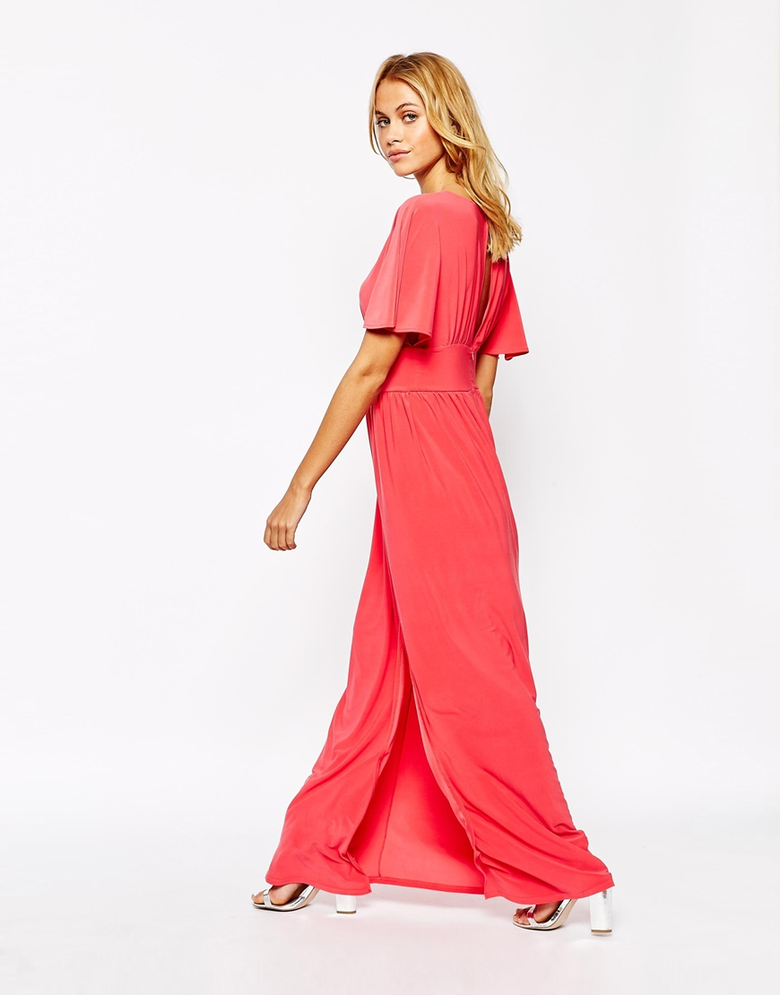 Love kimono maxi dress