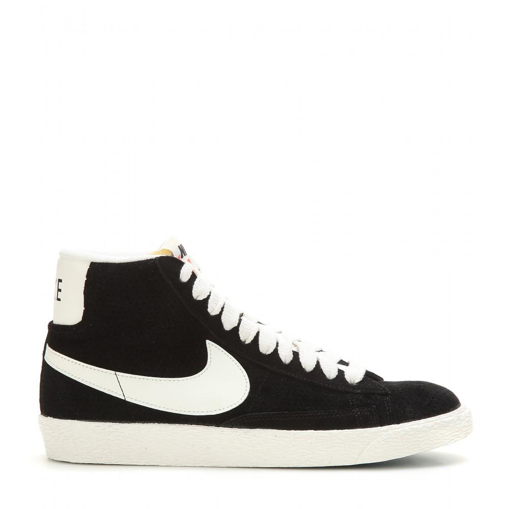 bb4f4dfcbe12f Nike Black Blazer Mid Vintage Suede High-top Sneakers