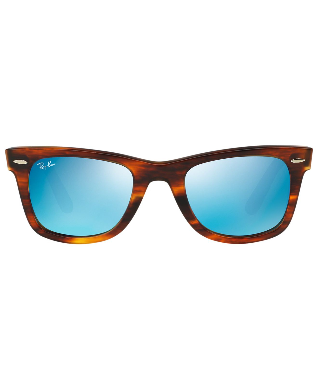 ray ban 2140 temple size