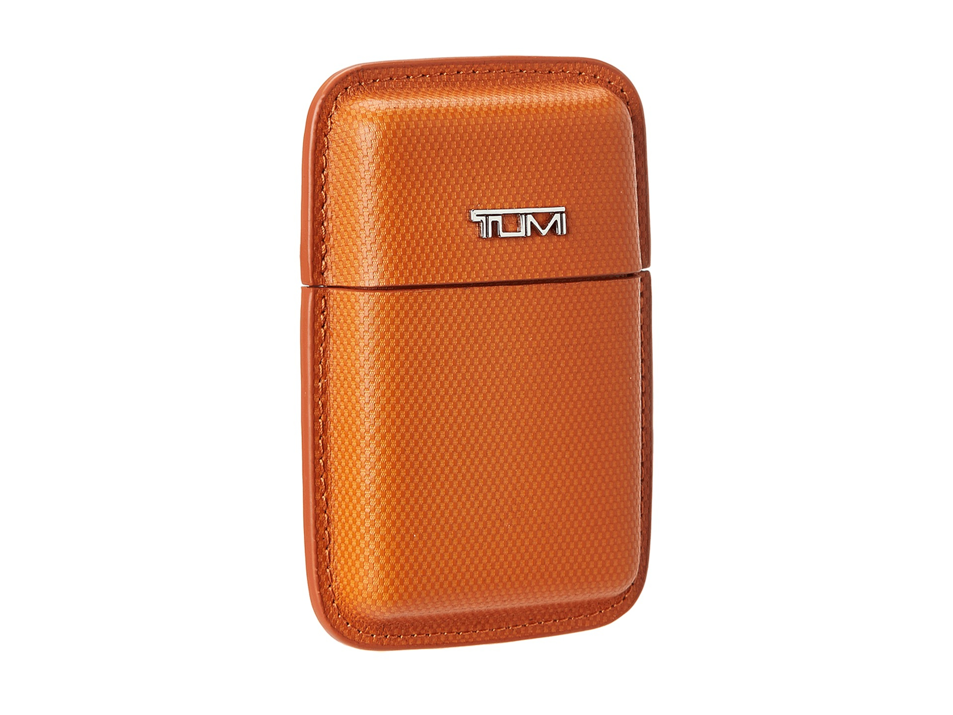 Lyst - Tumi Travel Accessory Structured Business Card Leather Case ...