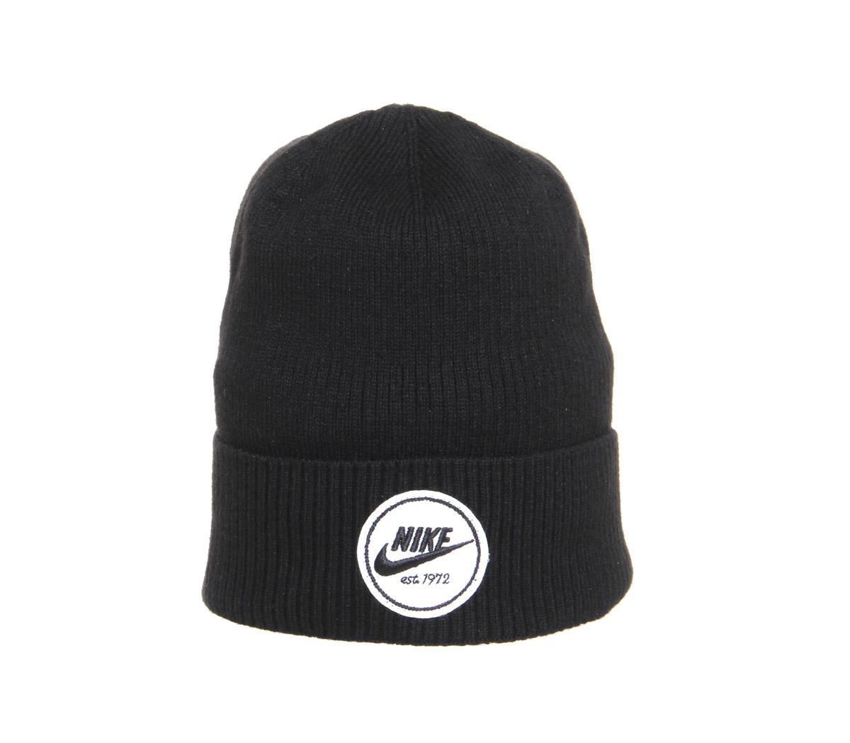 12cf4993b4f Nike Beanie Cuffed Core in Black for Men - Lyst
