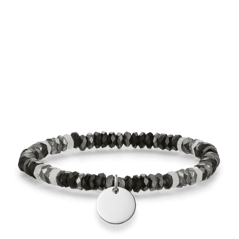 thomas sabo love bridge engravable tag bracelet in. Black Bedroom Furniture Sets. Home Design Ideas