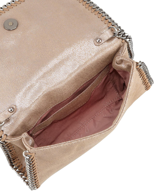 7bf9262feb Lyst - Stella McCartney Falabella Crossbody Bag Redwood in Brown