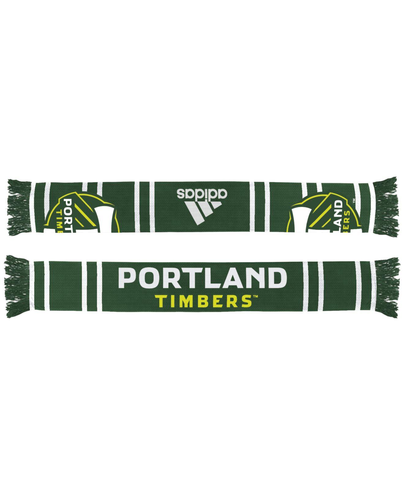 Portland Timbers: Adidas Portland Timbers Team Wordmark Scarf In Green