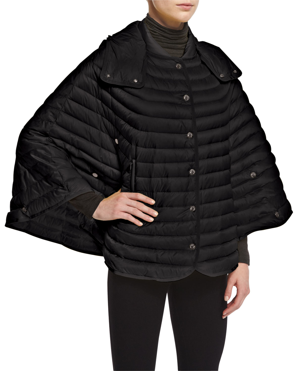 moncler sweater poncho
