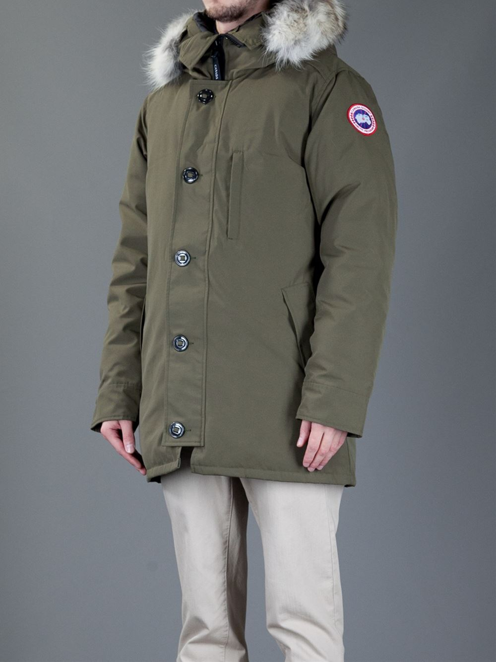 Canada Goose coats online official - Canada goose Parka Coat in Green for Men | Lyst