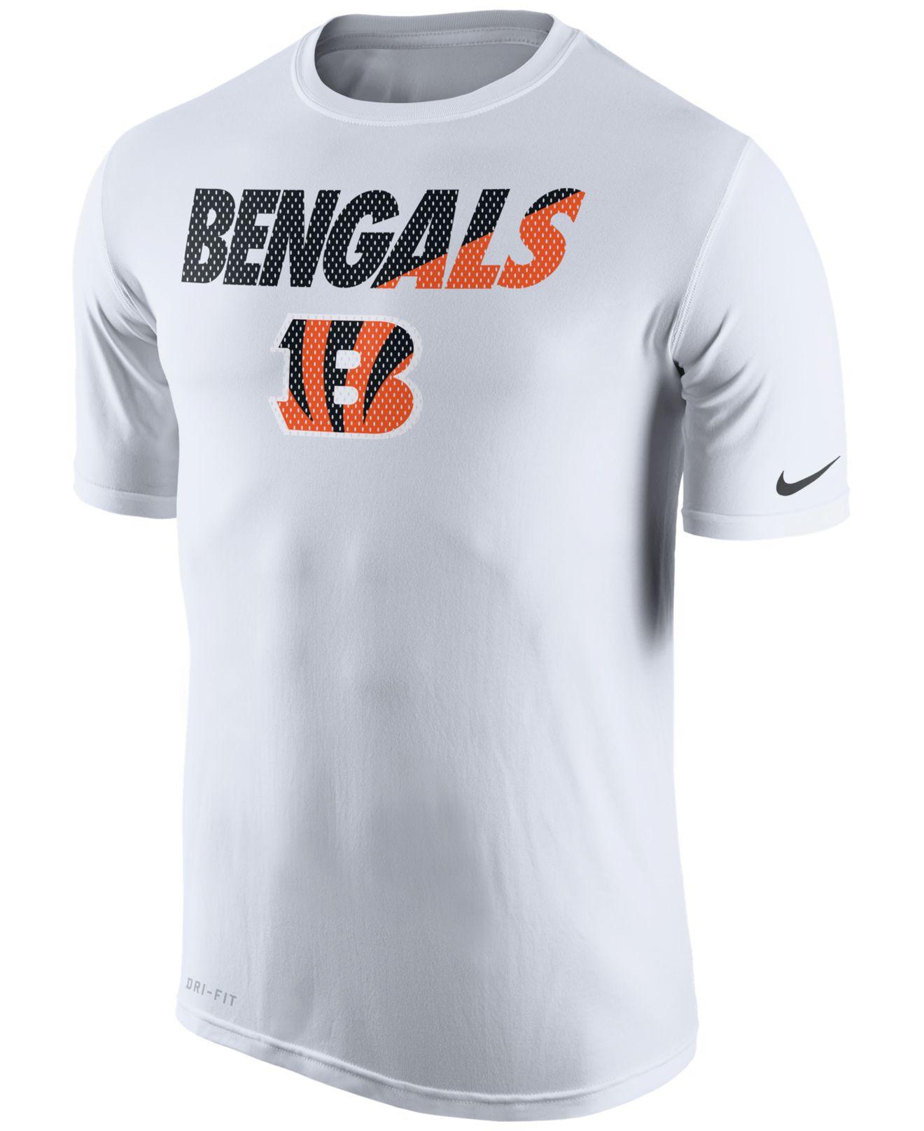 62f19245a ... where can i buy performance t shirt nike mens cincinnati bengals legend  staff practice t shirt discount code for nfl ...