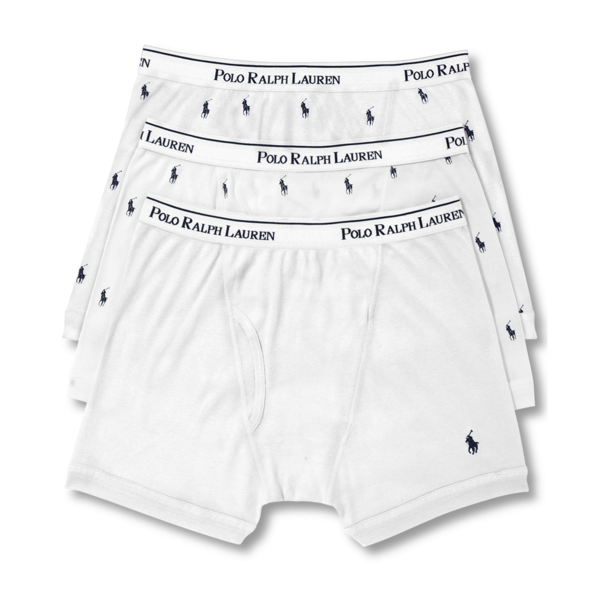 polo ralph lauren boxer briefs 3 pack in white for men lyst. Black Bedroom Furniture Sets. Home Design Ideas