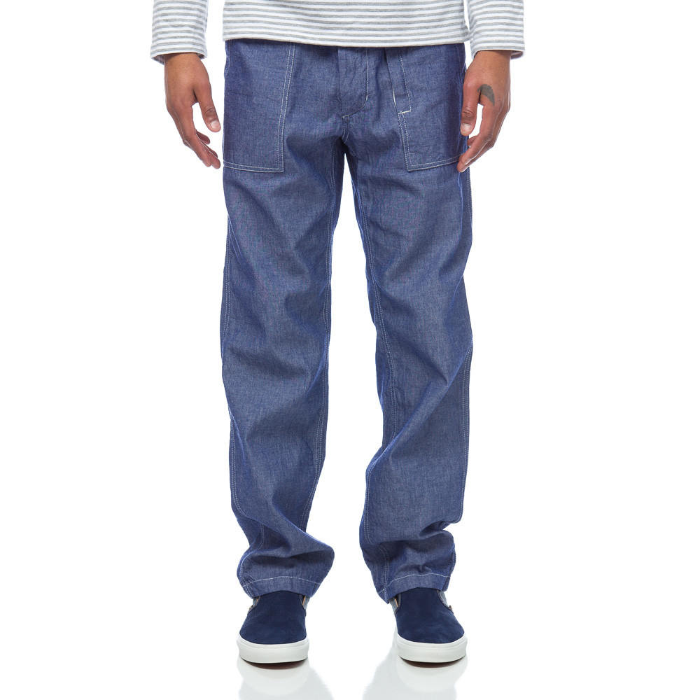 Lyst - Engineered Garments Fatigue Pant In Indigo Cotton in Blue for Men 5c79bae7f75
