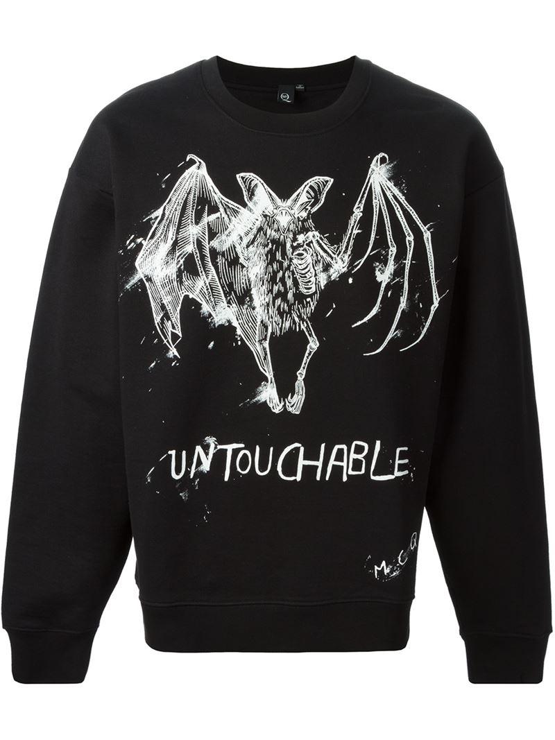 McQ Untouchable Print Sweatshirt in Black for Men