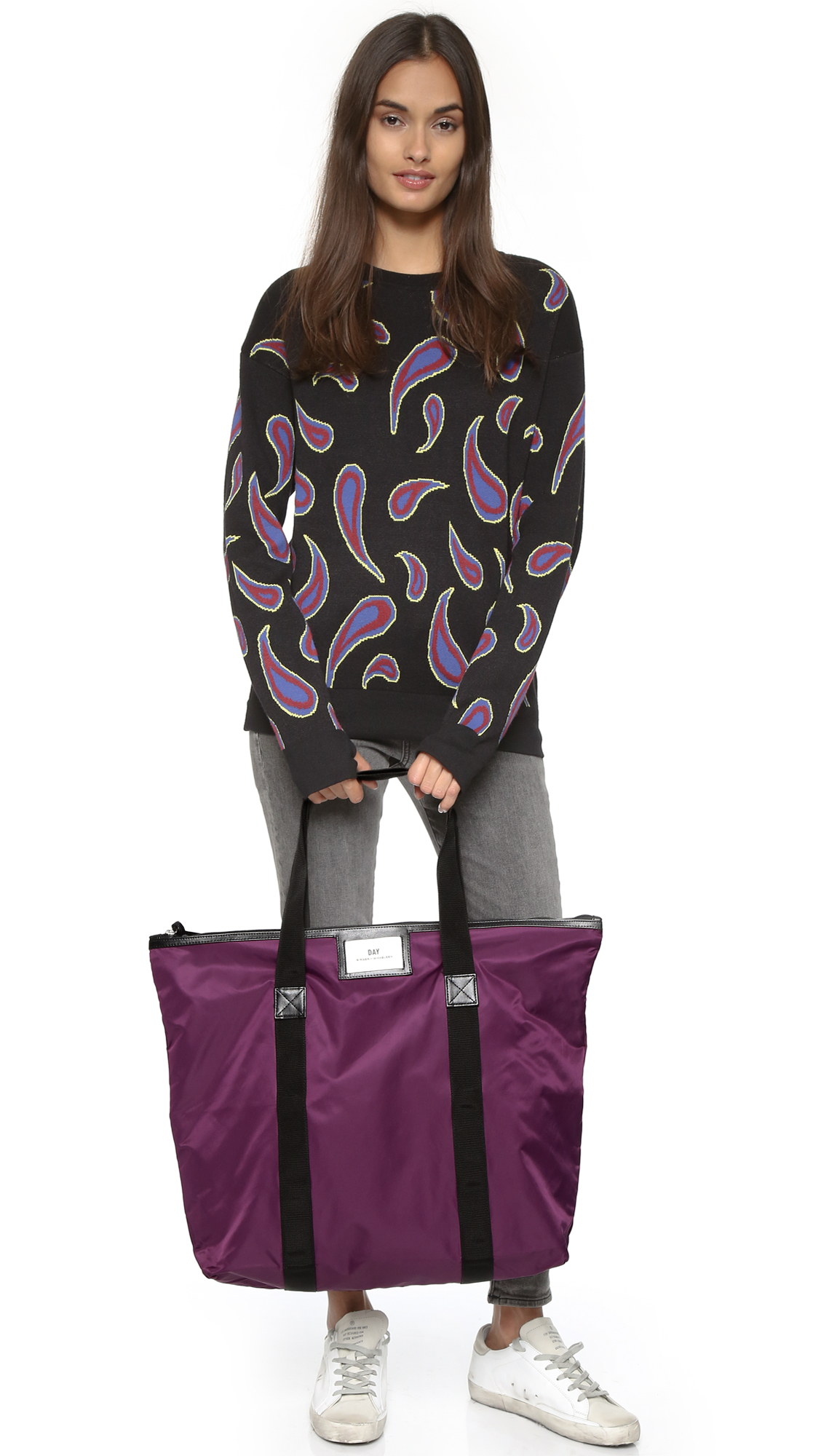 lyst day birger et mikkelsen day gweneth bag purple glow in purple. Black Bedroom Furniture Sets. Home Design Ideas