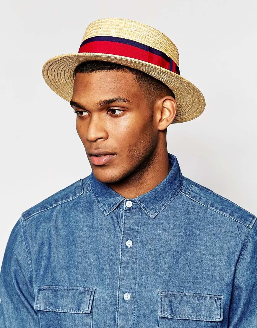 65550e95be9d6 Straw Boater Big Hat 2xl - Lamood Big Hats