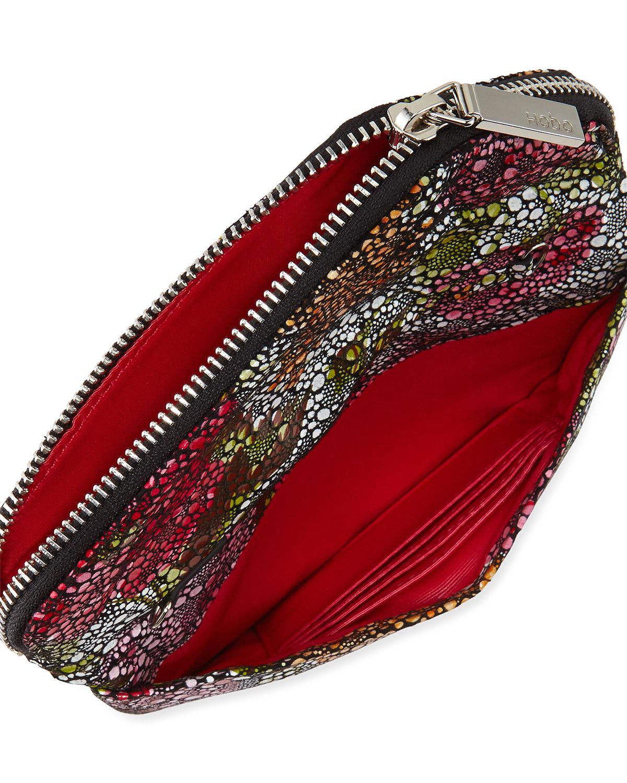 Hobo Zara Stingrayprint Crossbody Bag In Red   Lyst