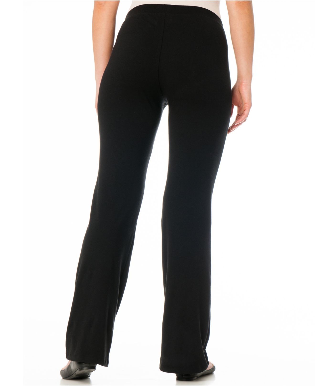 Bumpstart Two-pack Bootcut Maternity Yoga Pants in Black | Lyst