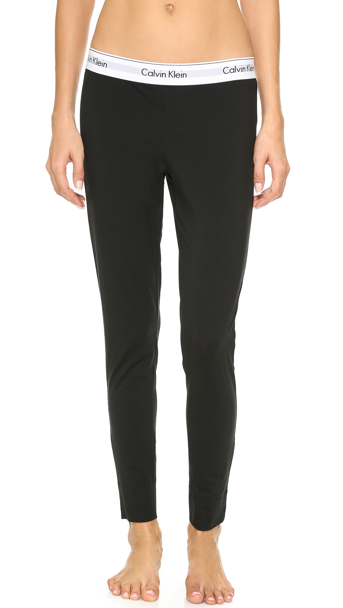 Fantastic Calvin Klein Womens Straight Fit Highline Black Pants